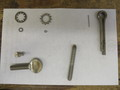 stainless washer, thumbe screw, cotter pins, hanger bolt,